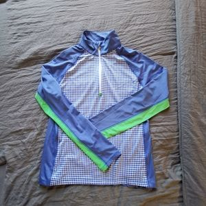 Polo Ralph Lauren Quarter Zip Pull Over Sweater